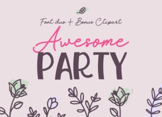 Awesome Party Font