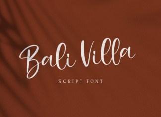Bali Villa Font