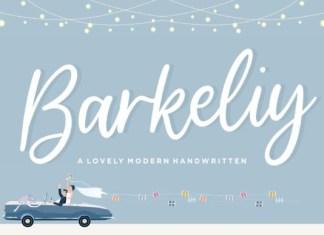Barkeliy Font