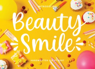 Beauty Smile Font