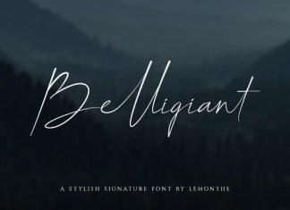 Belligiant Font