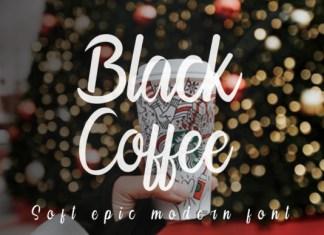 Black Coffee Font