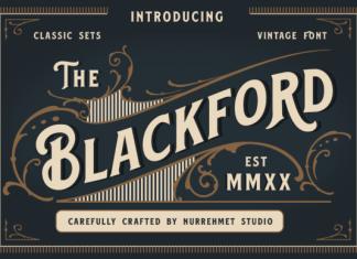 Blackford Font