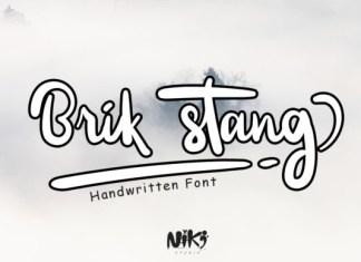 Brik Stang Font