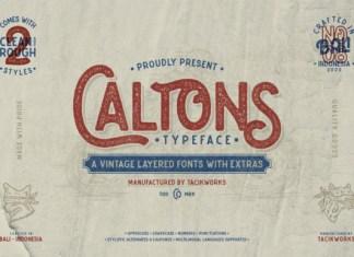 Caltons Font