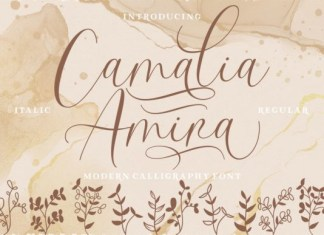 Camalia Amira Font