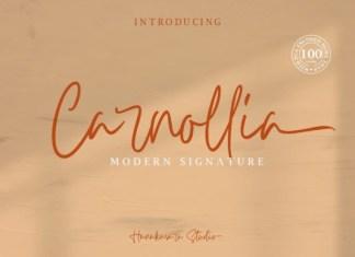 Carnollia Font