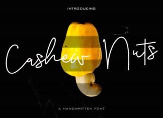 Cashew Nuts Font