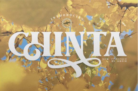 Chinta Font