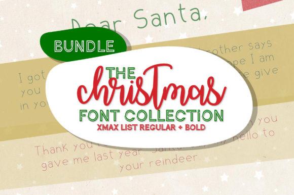 Christmas List Font