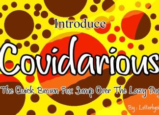 Covidarious Font