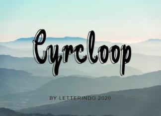 Cyrcloop Font