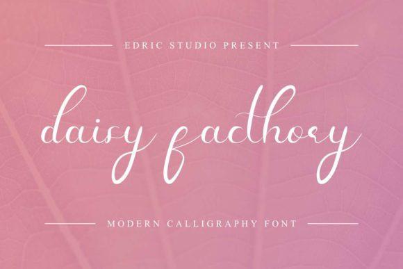 Daisy Facthory Font