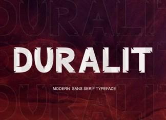 Duralit Font