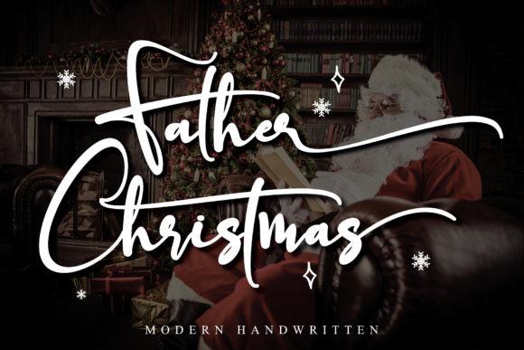 Father Christmas Font