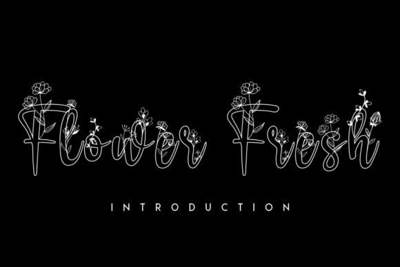 Flower Fresh Font