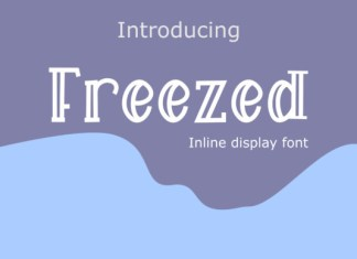 Freezed Font