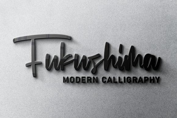 Fukushima Font