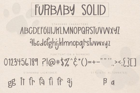 Furbaby Font
