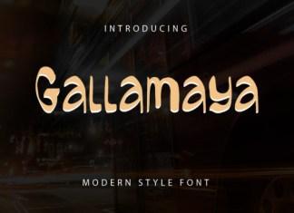 Gallamaya Font