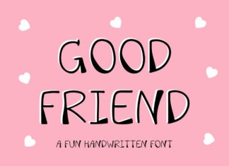 Good Friend Font