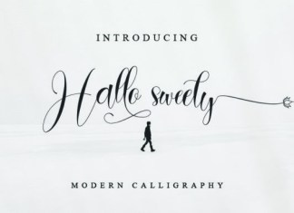 Hallo Sweety Font