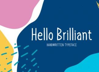 Hello Brilliant Font