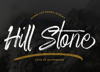 Hill Stone Font