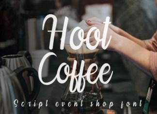 Hoot Coffee Font