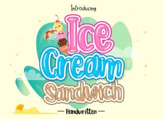 Ice Cream Sandwich Font
