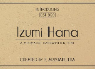 Izumi Hana Font