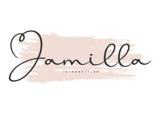 Jamilla Font