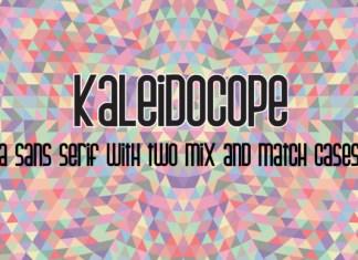 Kaleidocope Font