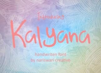 Kalyana Font
