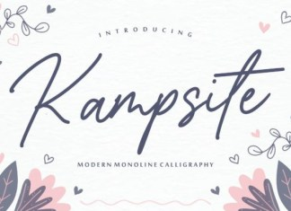 Kampsite Font