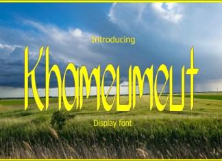 Khameumeut Font