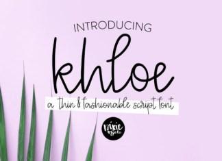 Khloe Font