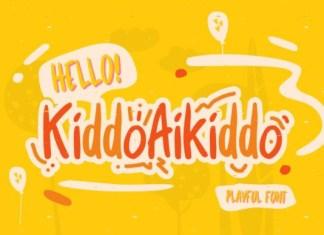 Kiddo Aikiddo Font