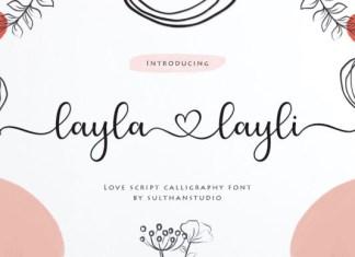 Layla Layli Font