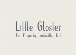 Little Gloster Font