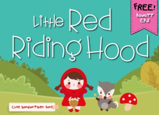 Little Red Riding Hood Font