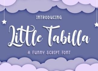 Little Tabilla Font
