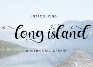 Long Island Font