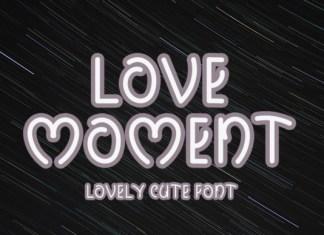 Love Moment Font