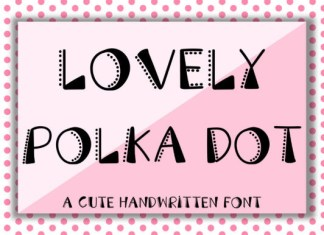 Lovely Polka Dot Font