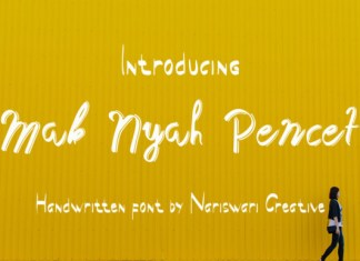 Mak Nyah Pencet Font