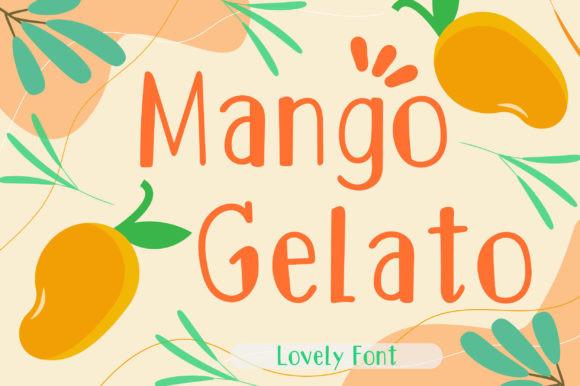 Mango Gelato Font
