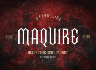 Maquire Font