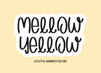 Mellow Yellow Font