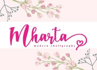 Mharta Font